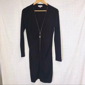 NWOT Calvin clien zippered coat long